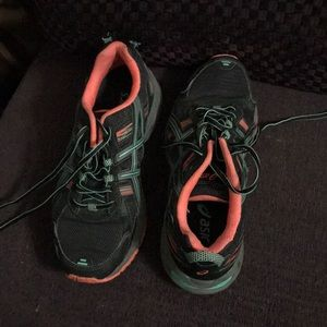 ASICS athletic shoes, worn once!